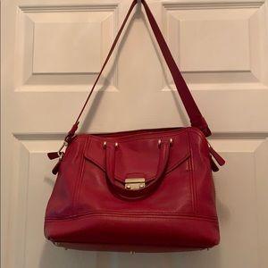 Red Furla purse